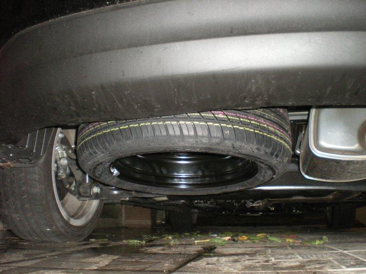 Copertura per ruota di scorta esterna L