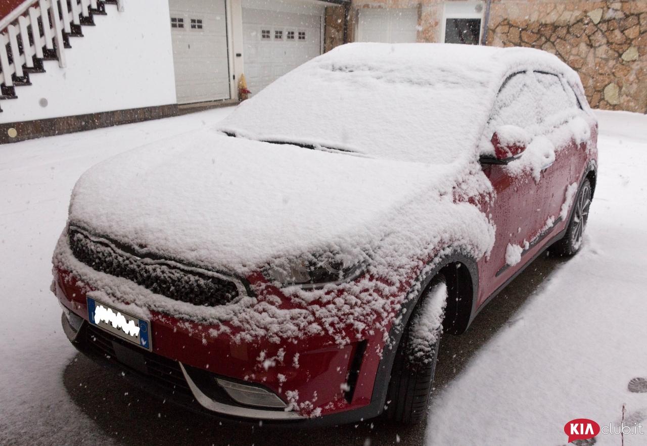 Prima neve per la niro