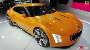 2015 KIA GT4 Stinger Concept - Exterior Walkaround - Debut at 2014 Detroit Auto Show
