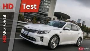 Kia Optima Sportswagon 1.7 CRDi e Hybrid Plug-in - prova HDtest