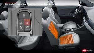 Niro - Riscaldatore sedile  Sedile con ventilazione  (For EU)