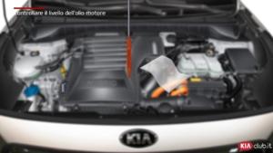 Niro - Controllare il livello dell'olio motore (For EU)