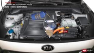 Niro - Rabboccare il fluido attuatore della frizione del motore (For EU)