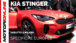 Kia Stinger, Debutto Europeo [EUROPEAN DEBUT]