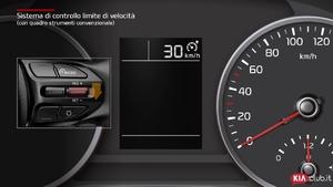 Rio - Sistema di controllo limite velocità [con quadro strumenti convenzionale] (For Italy)
