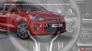 Rio - Come impostare il sistema di monitoraggio pressione pneumatici [TPMS] (For Italy)