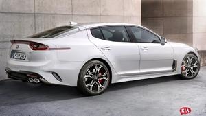 2018 Kia Stinger - interior Exterior and Drive (Great Sedan)