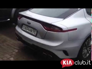 Vari video Kia Stinger