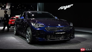 Kia Stinger at Seoul Motor Show [2017] 기아 스팅어 k8 كيا ستينجر