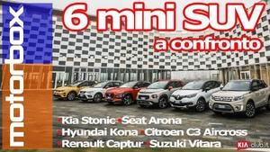 Sfida tra Mini SUV | C3 Aircross, Kona, Stonic, Captur, Arona, Vitara