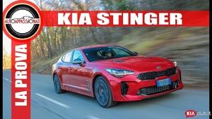 Kia Stinger: la prova della Gran Turismo coreana