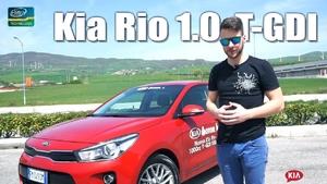 Kia RIO 1.0 T-GDI 100CV - IMPRESSIONI